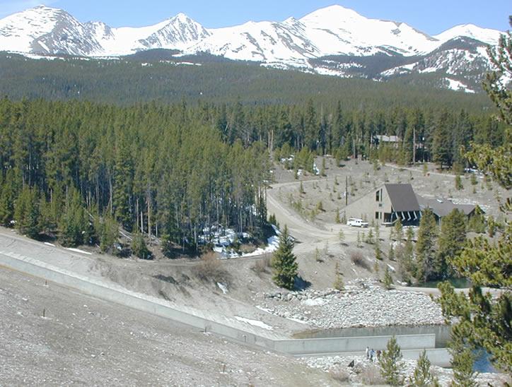 Goose Pasture Dam Spillway Repairs
