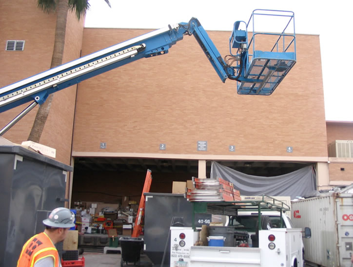 Arizona State University Memorial Union Fire Damage Repair