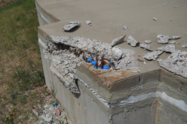 Post Tension Concrete Walls : Post tension repair and modification project
