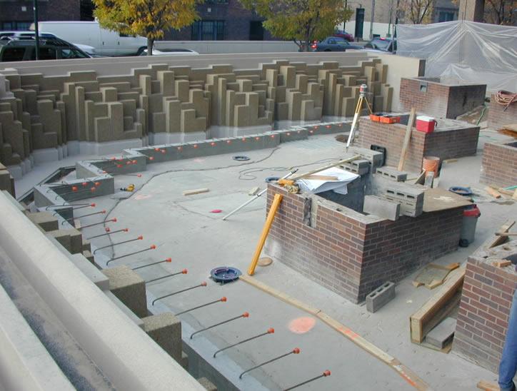 1301 Pennsylvania Street Plaza Rehabilitation