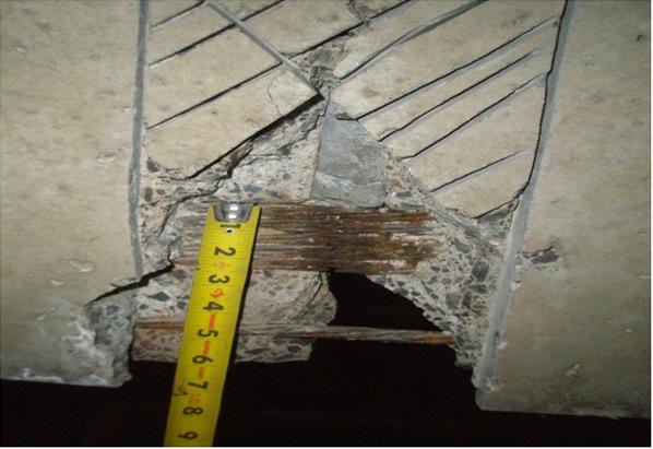 Creative double tee stem repair restruction corporation for Stem concrete