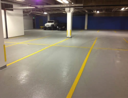 Curtis Hotel Parking Garage Repair