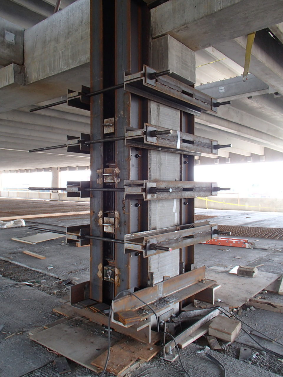 Critical Precast Concrete Column Repair