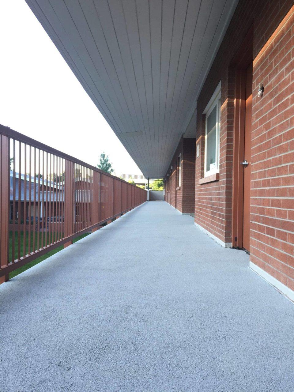 NAU McDonald Hall Elevated Walkway Hollow Core Repair
