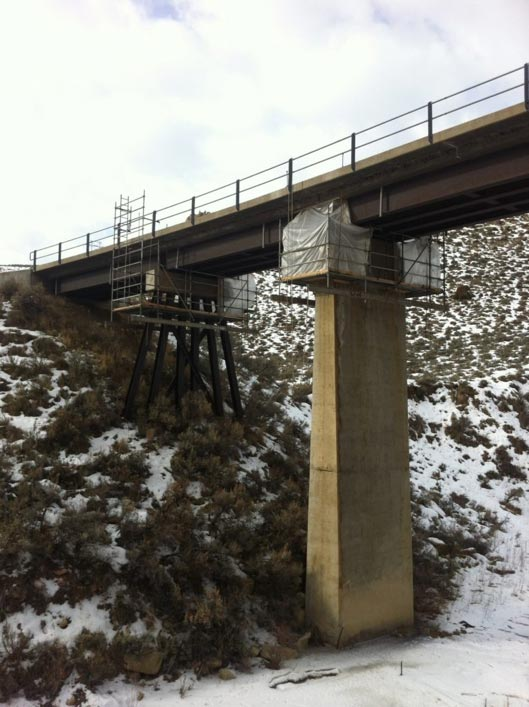 Colorado Railway Bridge Repair