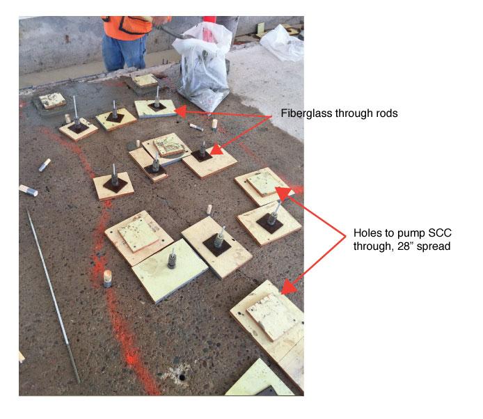 Arizona Concrete Repair Rods