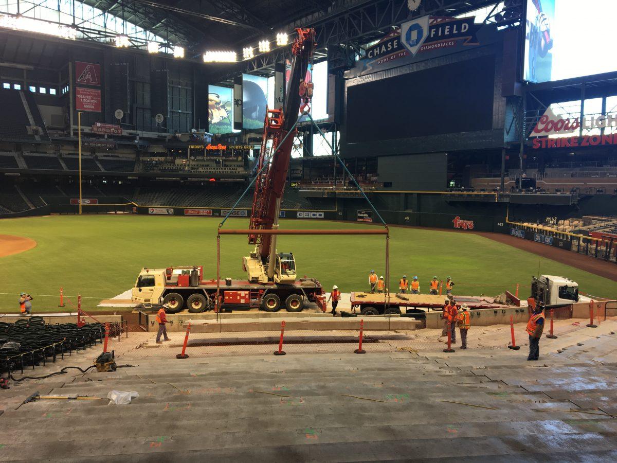 arena stadium construction
