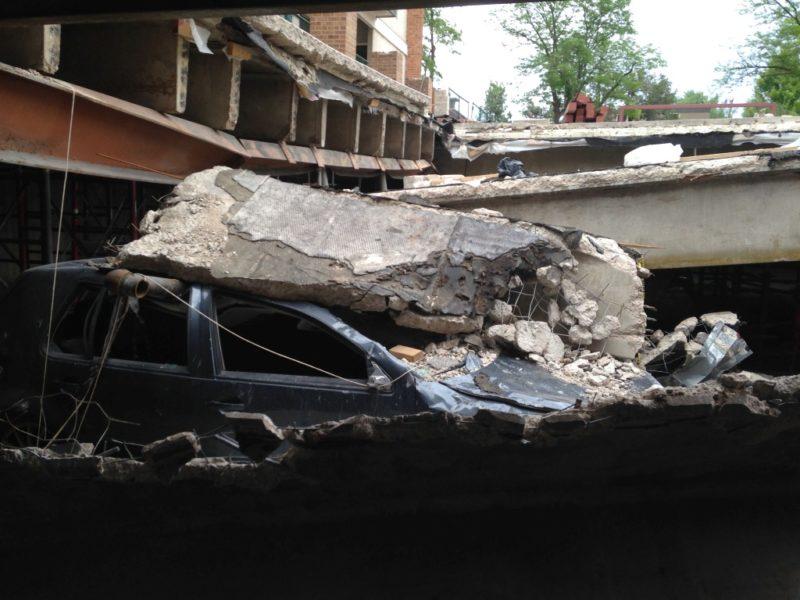 Collapsed Parking Garage