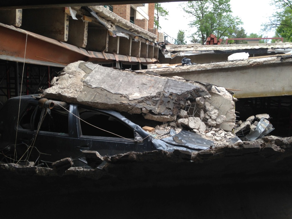 Repair of a Collapsed Parking Garage